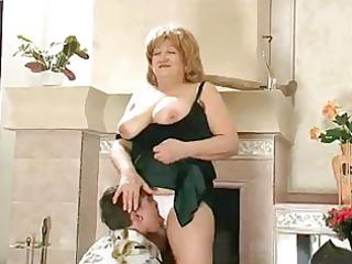 overweight granny fucked
