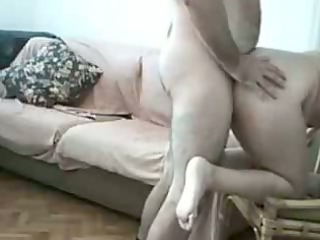 horny chunky amateurs fucking at home