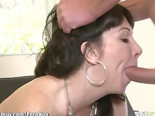 daughter catches mamma getting booty drilled