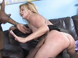 slutty mother i babe shags with darksome chap in