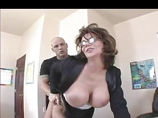 breasty mother i teacher in nylons fucks