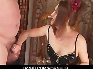 dominatrix koran thraldom wang jerking foot job