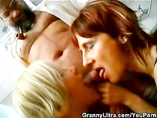 rod engulfing grannies and one old timer