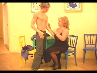 russian maturse & youthful boy-friends