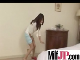 japanese milfs receives team-fucked truly hard
