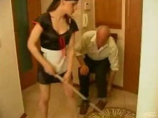 older man and the maid