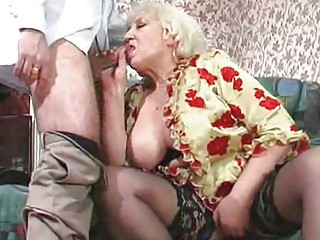 chunky mature maid acquires fucked