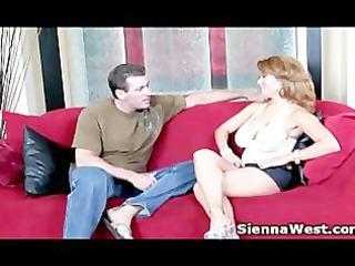 sienna west getting a precious big titty workout