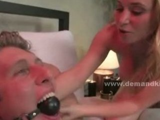 golden-haired breasty newly wed wife transforms