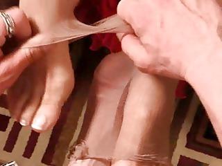 mature footjob film 3