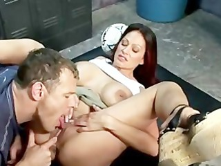 ava lauren sexy mother i in locker room