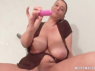 big beautiful woman older works biggest milk