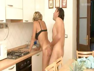 blonde anal older