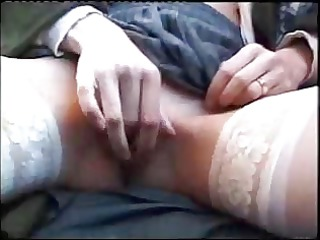 red head wife drilled by bbc in public