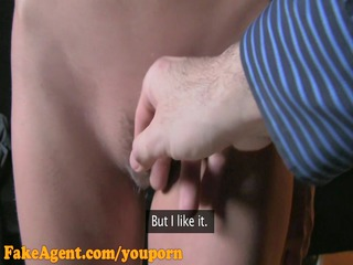 fakeagent hd young mum freaks out about creampie!