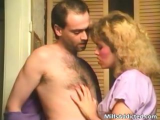 golden-haired milf sucks dick great previous to