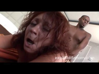 old granny receives drilled by a large darksome