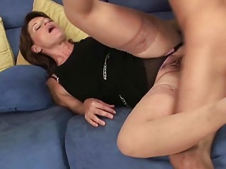 hawt milf hoe sucks her sons friends large boner