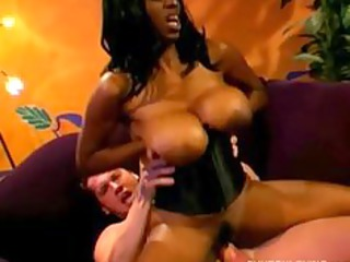 large tits dark mother i fucks a lucky white stud