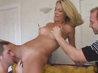 sexy wife getting fed juvenile rod