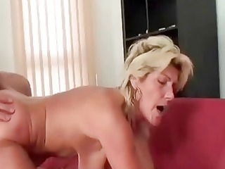 granny swallows a large shlong and copulates it