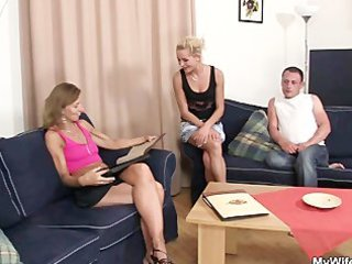 she is sees her stud fucking mother in law