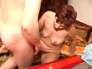 mature mom does her neighbour