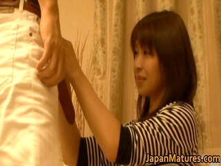 japanese mature babes have a three-some part4