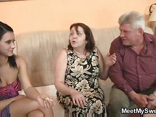 innocent girl is enticed by her boyfriends mommy
