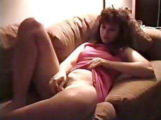 vintage d like to fuck masturbates curly pussy