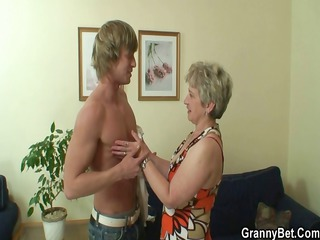 old housewife acquires nailed by an youthful boy