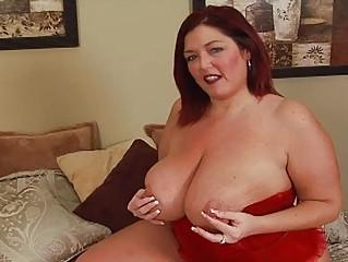randy redhead fat momma with large bosom