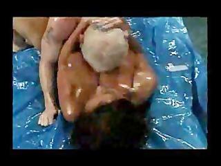 busty booty wrestling older donita dunes