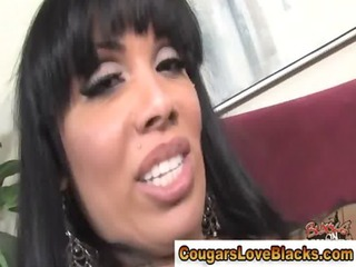 interracial loving cougar mother i foot play