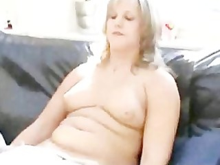 chubby german chick engages in roleplaying