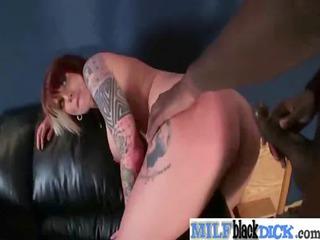 breasty milfs receive drilled by darksome dicks