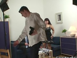 studs are banging giant titted aged whore