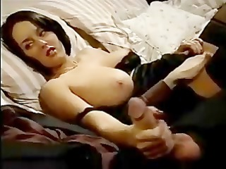 hot woman has three-some joy