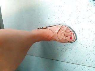 hidden webcam aged feet