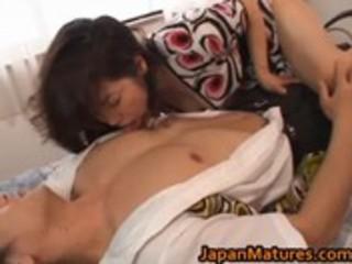 eri nakata japanese mature lady engages