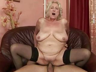 breasty chubby grandma enjoys worthwhile fucking