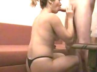 wife in pants sensual bj movie