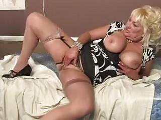 blonde momma with massive milk sacks in sexy