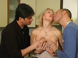 italian mature clarissa three-some