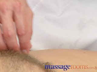 massage rooms aged woman with hairy pussy given