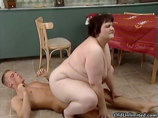 chubby older whore goes insane engulfing part7