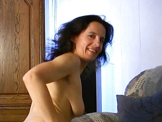 aged fetisha plays with her slit