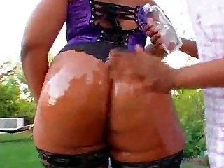 flame oiled up milf arse