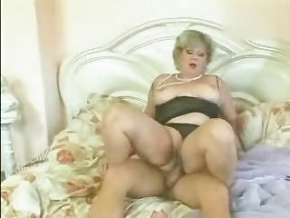 golden-haired granny screwed