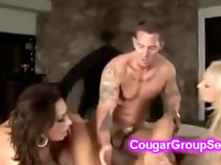 gorgeous cougars with sexy large boobs get
